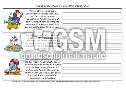arbeitsblatt vorschule 187 deutsch grammatik wortarten