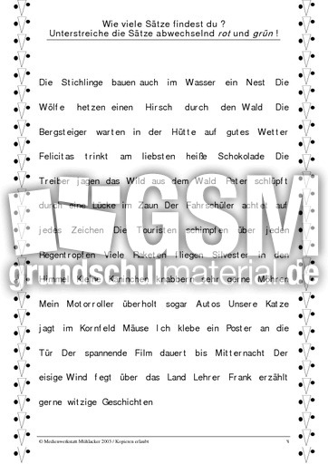 Großartig Identifizieren Substantive In Sätze Arbeitsblatt Bilder ...
