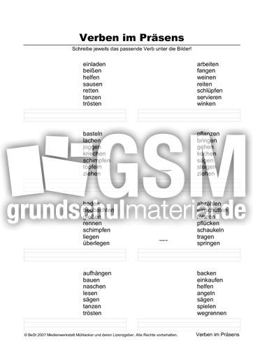 verben zuordnen 5s 1 pr sens zuordnen arbeitsbl tter verben grammatik deutsch klasse 3. Black Bedroom Furniture Sets. Home Design Ideas