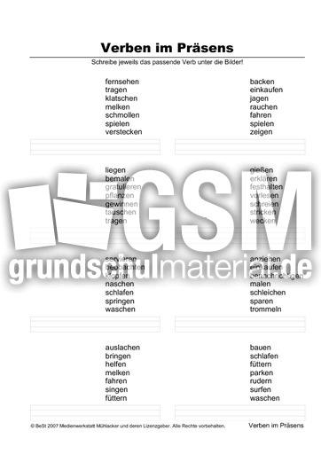 verben zuordnen 5s 3 pr sens zuordnen arbeitsbl tter verben grammatik deutsch klasse 3. Black Bedroom Furniture Sets. Home Design Ideas