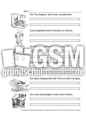 ab verben pr teritum 1 42 pr teritum arbeitsbl tter verben grammatik deutsch klasse 3. Black Bedroom Furniture Sets. Home Design Ideas