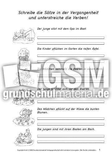 ab s tze sommerferien verben 1 13 feriens tze zeitformen ben verben grammatik deutsch. Black Bedroom Furniture Sets. Home Design Ideas