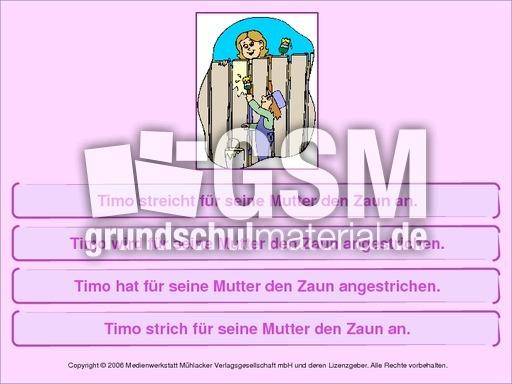 Arbeitsblatt Deutsch Klasse 4 : Arbeitsblatt vorschule übungen zeitformen deutsch klasse
