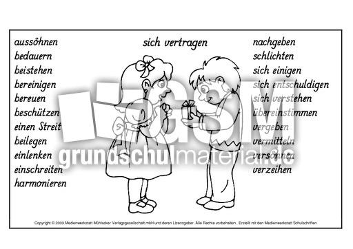 Wortfeld Sagen Sprechen Medienwerkstatt Wissen 11