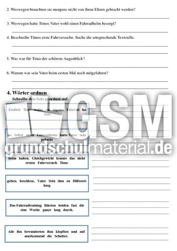 aller anfang ist schwer lese aufgaben mappen lesen deutsch klasse 3. Black Bedroom Furniture Sets. Home Design Ideas