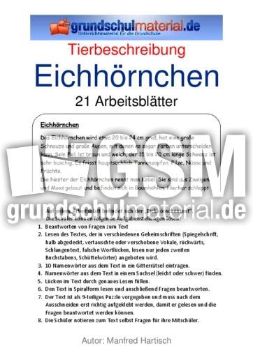 eichh246rnchen 39 tierbeschreibungen tierbeschreibungen