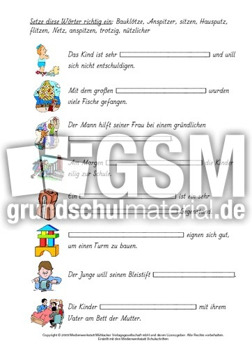 Beste In Worten Für Kindergarten Arbeitsblatt Ideen - Arbeitsblätter ...