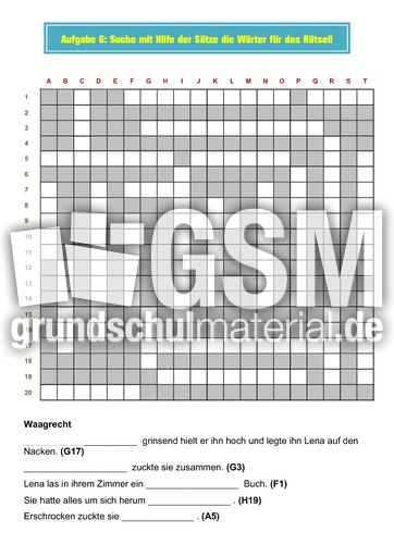 pdf mappe frosch im nacken - Diktatmappen - Diktate - Rechtschreibung - Deutsch Klasse 3 ...