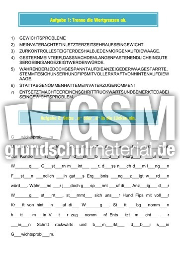 pdf mappe gewichtsprobleme - Diktatmappen - Diktate ...