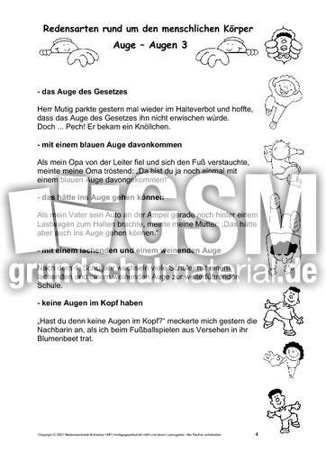 Körper-Redensarten-1-55 - Körper-Redensarten - Redensarten - Deutsch ...