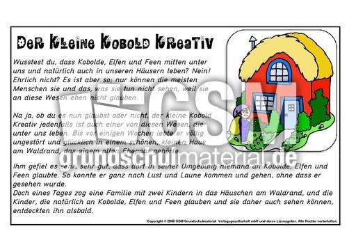 Charmant Kobold Arbeitsblatt Fotos - Arbeitsblätter für Kinderarbeit ...