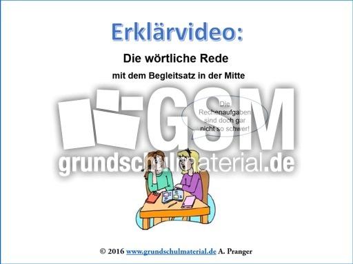 w246rtliche rede 3 erkl228rvideo w246rtliche rede deutsch
