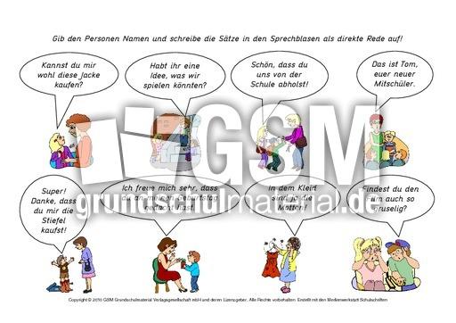Wu00f6rtliche-Rede-Sprachblasen-1-15 - Kartei-Redezeichen ...