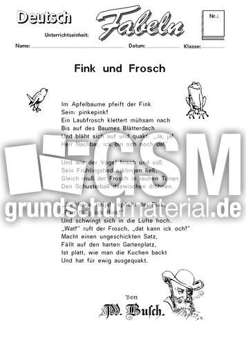 Fink frosch 02 klassische fabeln fabeln deutsch - Frosch englisch ...