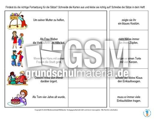 Konjunktionen-Satzteile-verbinden-Heft 1 - Lernhefte ...