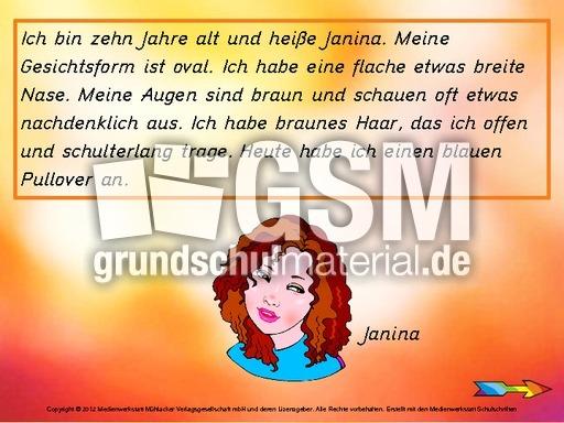 arbeitsblatt vorschule 187 personenbeschreibung grundschule