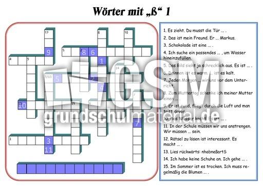 223 w246rter 1 kreuzwortr228tsel rechtschreibung deutsch