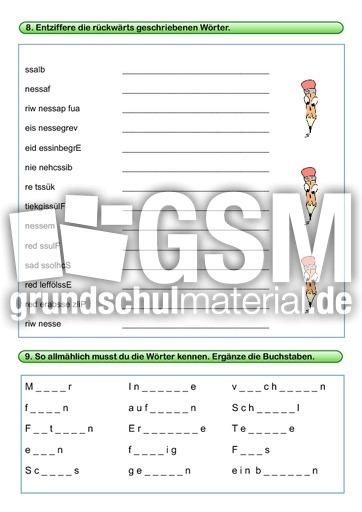 woerter mit ss lernwortmappen mit bungen rechtschreibung deutsch klasse 4. Black Bedroom Furniture Sets. Home Design Ideas
