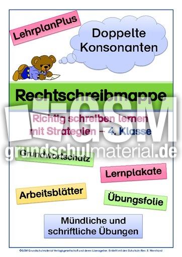 Wörter mit Doppelkonsonanten - doppelte Mitlaute - Rechtschreibfälle ...