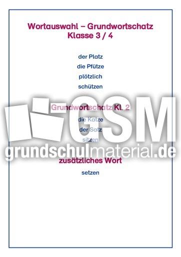 Wu00f6rter mit tz, Silben, Kl. 4, LP+ - LehrplanPlus RS-Strategien - Rechtschreibstrategien ...