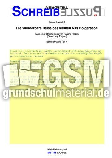 nils holgersson textvorlagen bungen schreiben und lesen deutsch klasse 4. Black Bedroom Furniture Sets. Home Design Ideas