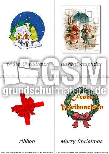 wort-bild - christmas 10 - Christmas - Bild-Wort-Karten klein ...