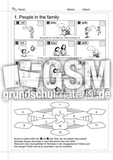 01_Sätze - people in the family 1 - Erste englische Sätze ...