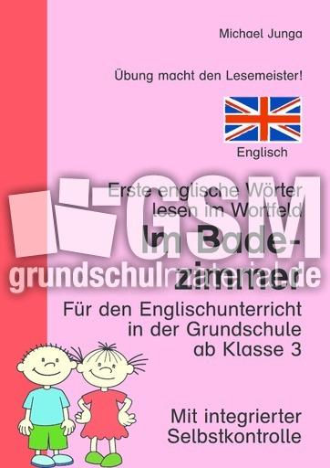 Im Badezimmer (englisch) d - Wortfeld-Leseübungen ...