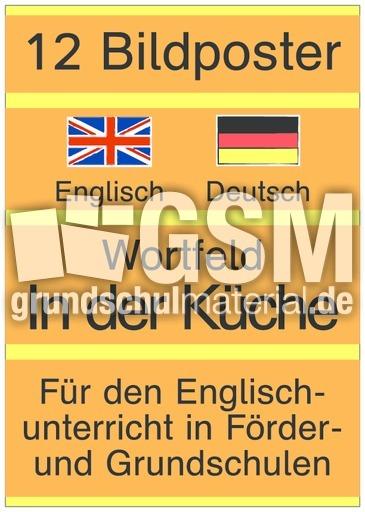 Wortfeld In Der Kuche E D D Bildposter Englisch Deutsch Bild