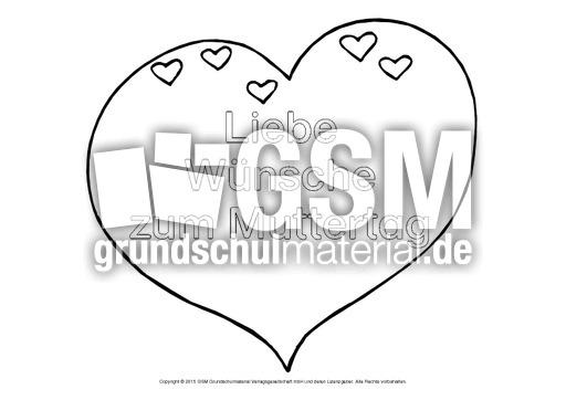 Herz-Wunsch-Muttertag-4 - Herz-Wünsche - Basteleien - Muttertag ...