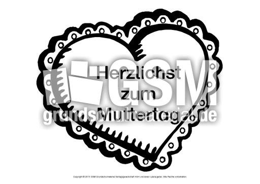 Herz-Wunsch-Muttertag-6 - Herz-Wünsche - Basteleien - Muttertag ...