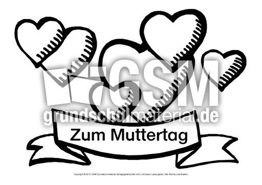Herz-Wunsch-Muttertag-7 - Herz-Wünsche - Basteleien - Muttertag ...