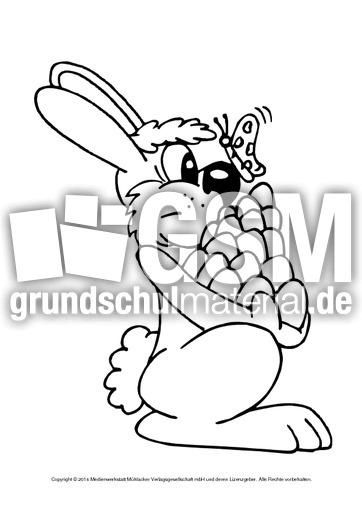 Ostern-Ausmalbilder-E-1-10 - Ausmalbilder - Ostern - Feste und ...