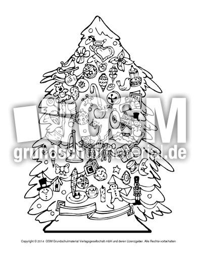ausmalbildweihnachtsbaum4  weihnachten  ausmalbilder
