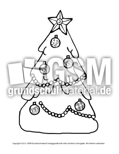 ausmalbildweihnachtsbaum7  weihnachten  ausmalbilder