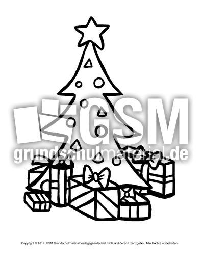 Ausmalbild Weihnachtsbaum 9 Weihnachten Ausmalbilder