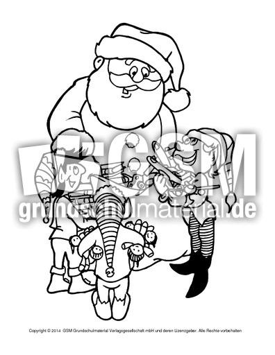 ausmalbildweihnachtswichtel6  weihnachtswichtel