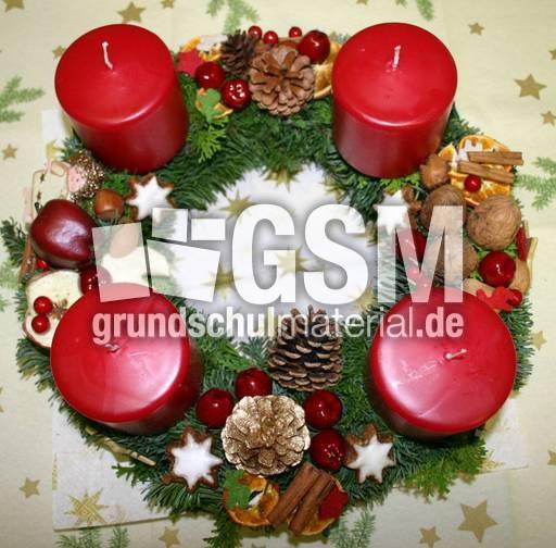 A kranz 1 adventskranz fotos weihnachten feste und - Adventskranz englisch ...