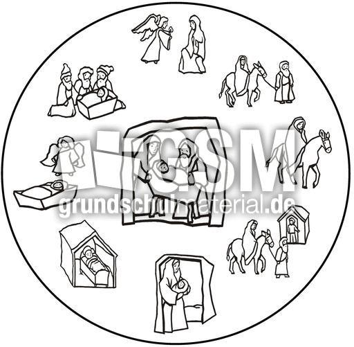 weihnachts mandala 16 mandalas als jpg weihnachten. Black Bedroom Furniture Sets. Home Design Ideas