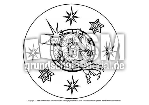 weihnachts mandala 2 mandalas als pdf weihnachten. Black Bedroom Furniture Sets. Home Design Ideas