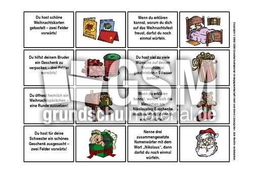 advents w rfelspiel 2 spielkarten 4 w rfelspiele. Black Bedroom Furniture Sets. Home Design Ideas