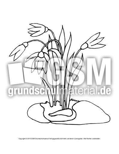 Nett Frühlingsmalvorlagen Für Die Erste Klasse Galerie - Framing ...
