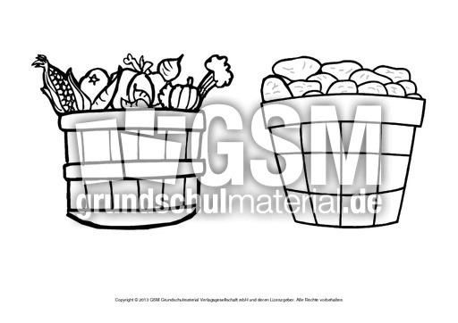 Ausmalbilder Herbstfrüchte A 1 10 Ausmalbilder Herbst