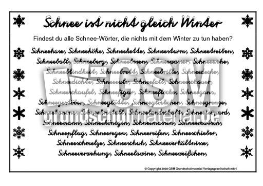 Fantastisch Schnee Mathe Arbeitsblatt Fotos - Mathematik & Geometrie ...