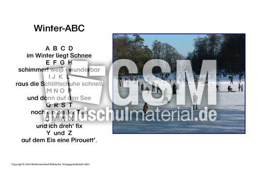 Winter Abc Gedichte Winter Winter Jahreszeiten Hus