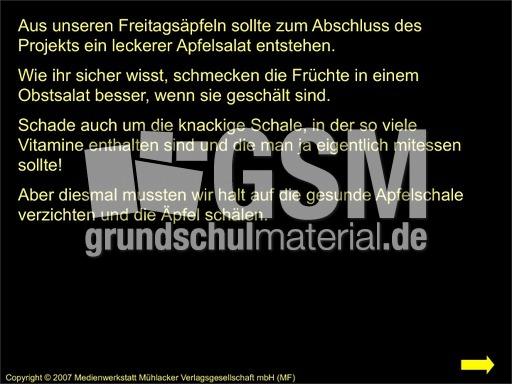 Apfel-Projekt-Dokumentation - Präsentation - Der Apfel - HuS Klasse ...