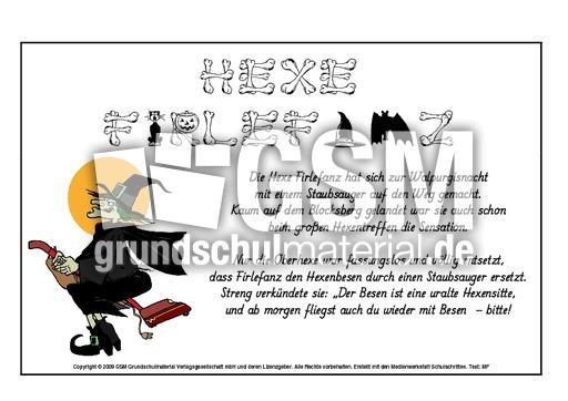 Hexenreime-1-16 - Allerlei-Hexenreime - Halloween - Feste ...