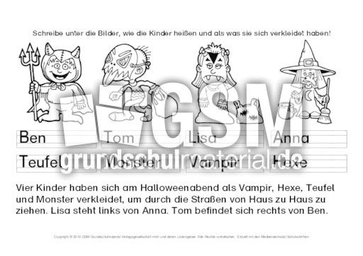 Logical-Halloween-1 - Arbeitsblätter-Halloween - Halloween - Feste ...