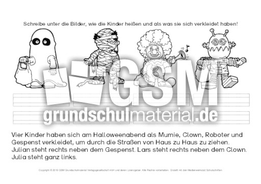 Logical-Halloween-2 - Arbeitsblätter-Halloween - Halloween - Feste ...