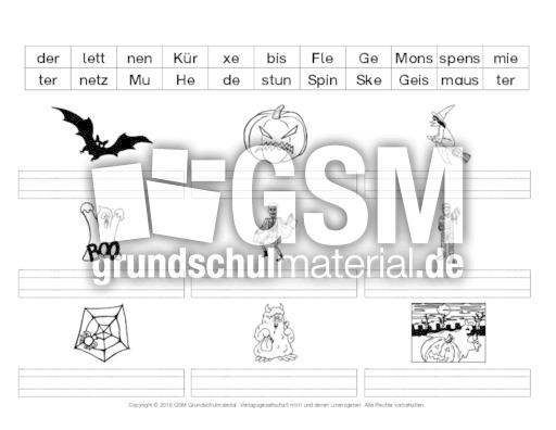Gemütlich Halloween Sicherheitsarbeitsblätter Zeitgenössisch - Ideen ...